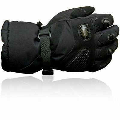 Prime Textile Amara Winter Motorcycle Gloves Motorbike Black Collection