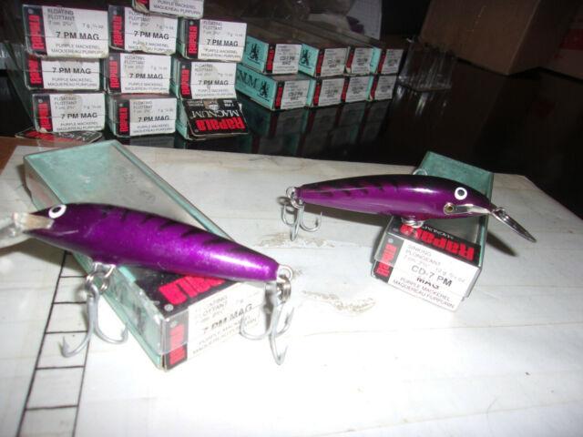 RAPALA ORIGINAL FLOTTANT lure 7 Cm 4 g Or Fluorescent