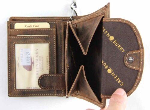 GREENBURRY Biker-borsa con catena 42 cm Manzo Pelle portafoglio wallet BIKE 1796 A-S