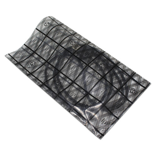 Grid Anti-Static ESD Wrapping Bags Open Top Heat Seal Electronic Packaging Pouch