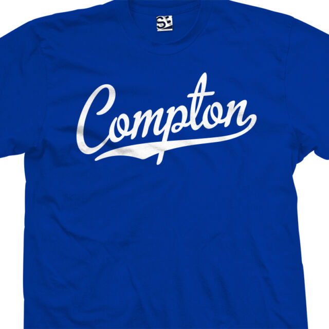 Compton Script & Tail Shirt - NWA CPT High School Straight Outta All Size Colors
