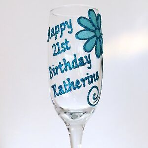 Image Is Loading Personalised 21st Birthday Gifts For Her Friends Champagne