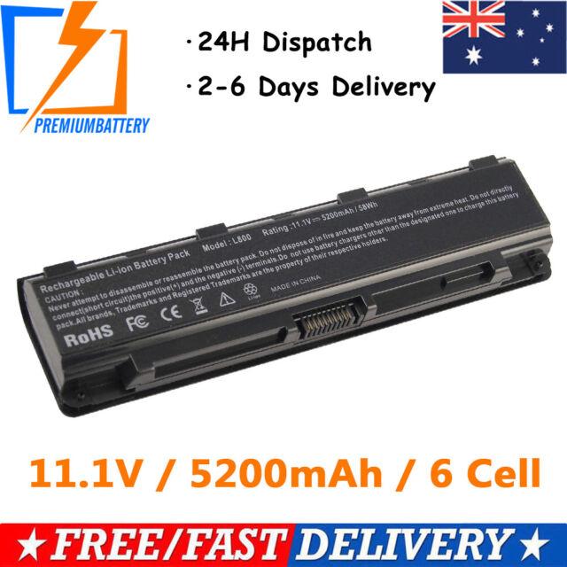 6 Cell 5200mAh Laptop Battery For Toshiba PA5023U-1BRS,PA5024U-1BRS,PA5025U-1BRS