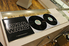 Original 1977 Star Wars Double Vinyl Lp with Track List and Original Poster!