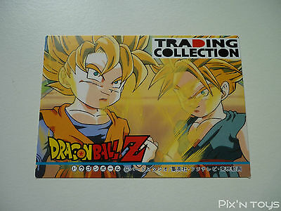 Carte Dragon Ball Z DBZ Trading Collection Memorial Photo #Check List 4 1995
