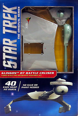 Polar Lights 1/1000 Pre-Decorated Star Trek Klingon D7 Battle Cruiser POL937/06