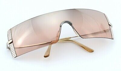 Daniel Swarovski Sunglasses S546/00 6051 Panorama Shield Deluxe Gems c2003 L