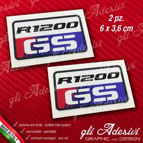 2 Adesivi Stickers BMW GS R 1200 30 Years Anniversary GS 3