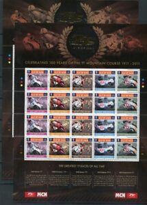Isle-of-Man-ZD-MiNr-1676-85-postfrisch-MNH-Motorrad-GF13905