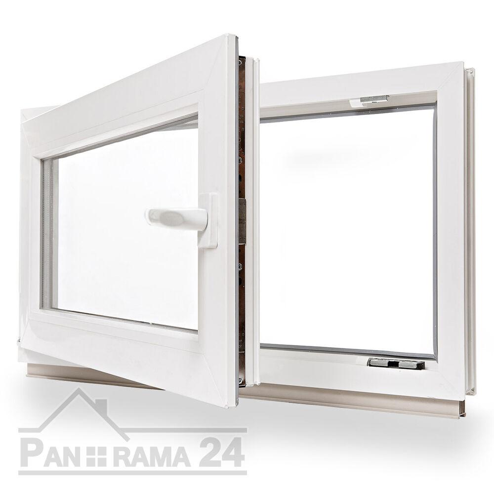 Kunststofffenster Kellerfenster Fenster Alle Höhen X 500 mm Breite 2-Fach