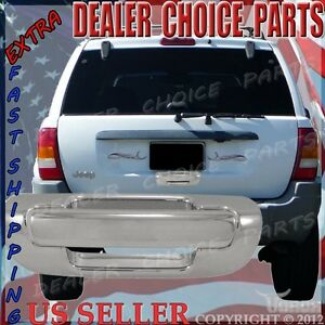 Triple Chrome Plated Tailgate Handle Cover FOR 14-15 JEEP GRAND CHEROKEE