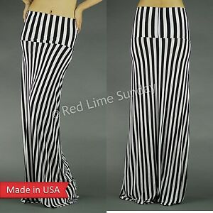 fashion fold vertical stripe print floor