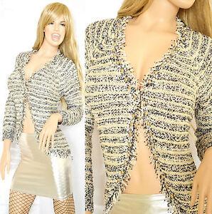 CARDIGAN-maglioncino-donna-maglione-manica-lunga-maglietta-pullover-scollo-V-M05