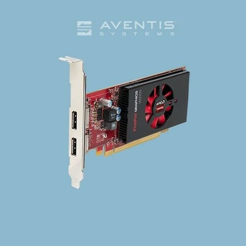 AMD FirePro W2100 2GB GDDR3 Dual Display Graphics Card