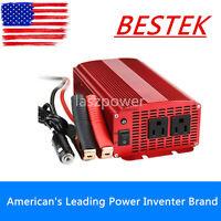 BESTEK 1000W/1200 Car DC 12V to AC 110V Power Inverter Dual Outlets Power Supply