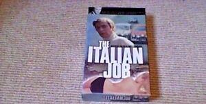 THE-ITALIAN-JOB-Digitally-Remastered-LTD-UK-Full-Carton-PAL-VHS-VIDEO-1999-Mini