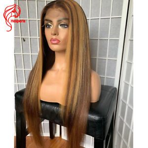 8A-Highlight-Blonde-Brazilian-Remy-13x6-Lace-Front-Human-Hair-Wig-Pre-Plucked