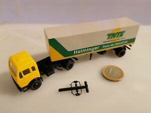 G643-RMM-ROSKOPF-heut-Wiking-MODELLE-708-MERCEDES-1633-LS-38-TNTE-HELMINGER