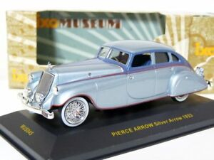 Ixo-MUS045-1-43-1933-Pierce-Arrow-Silver-Arrow-Diecast-Model-Car