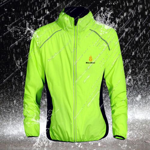 Grün 2XL Unisex Windjacke Windbreaker Regenjacke für Fahrrad Outdoor Sports
