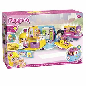 Pinypon - Ambulance of Pets Pin y Pon Doll and Accessories (Famosa 700012751)