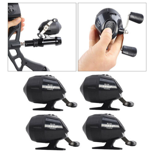 4x Powerful Gear Ratio 3.0:1 Fishing Reel Push Button Close Face Reel