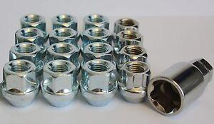 12 x M12 x 1.5 a forchetta dadi delle ruote & Chiusura Adatto OPEL ASTRA J