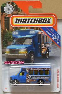 Matchbox gmc school bus 2019-018 np12