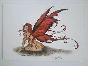 Image Is Loading AMY BROWN NEW Amp MINT FAIRY POSTCARD MINI