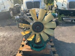 2006 Volvo VED12D Diesel Engine. 465HP. All Complete and Run Tested.
