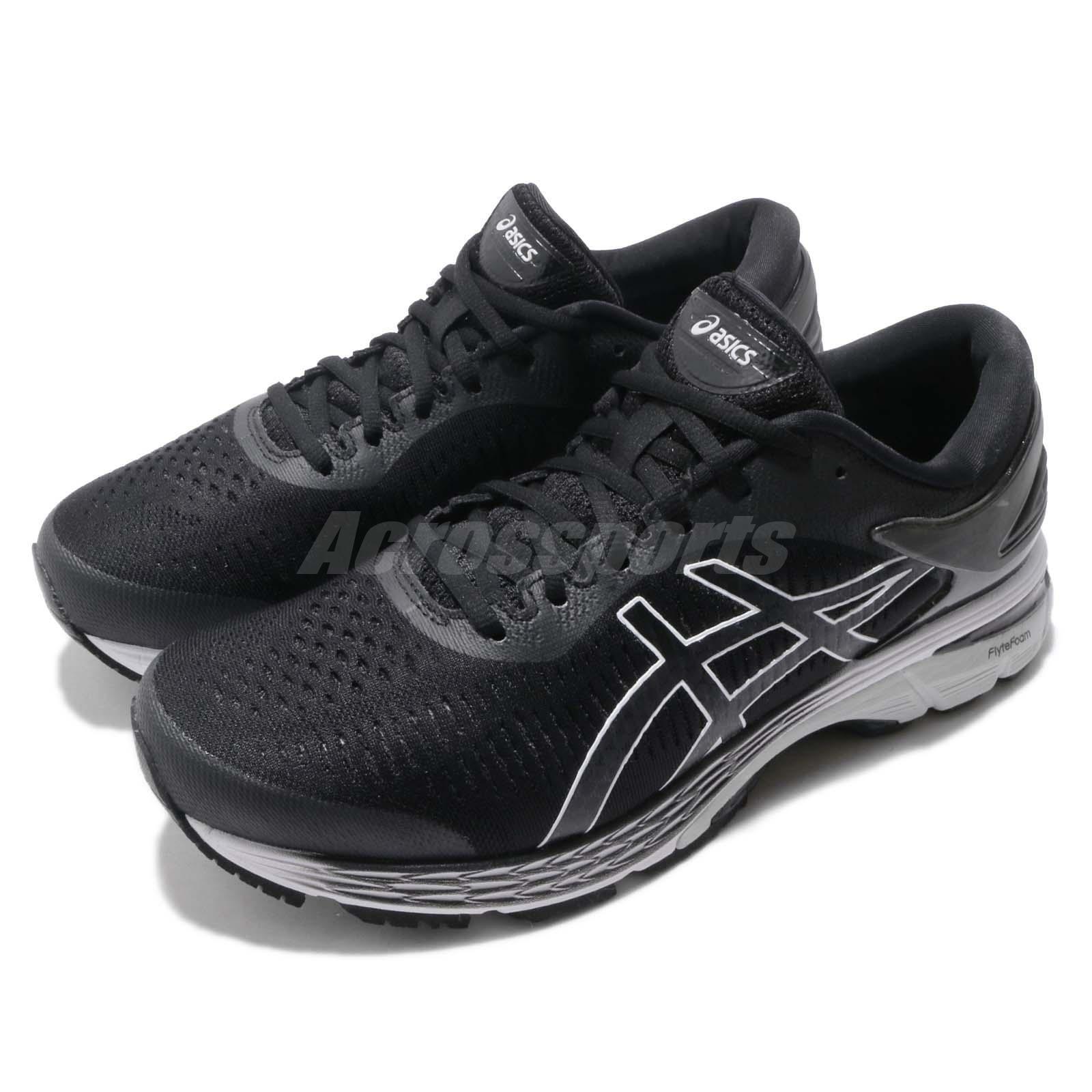 Asics Gel Kayano 25 2E Wide nero grigio  Men Running scarpe scarpe da ginnastica 1011A029 -003  in cerca di agente di vendita
