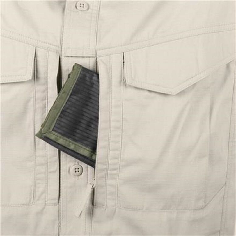 Helikon Tex DEFENDER Mk2 Shirt short short Shirt sleeve Outdoor Freizeit Hemd khaki XXL 2XL 3b97e9