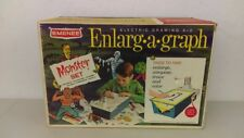 1966 Emenee Monster Drawing Enlarg A Graph Boxed Draw Creature-Frankenstein