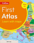 Collins First Atlas: Collins Primary Atlases [2nd Edition] by Collins Maps (Paperback, 2014)