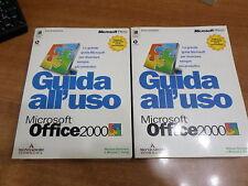 GUIDA ALL'USO MICROSOFT OFFICE 2000 2 VOLUMI Con CD-ROM  Edizione Mondadori