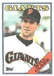 1988 Topps Will Clark 350 Baseball Card For Sale Online Ebay