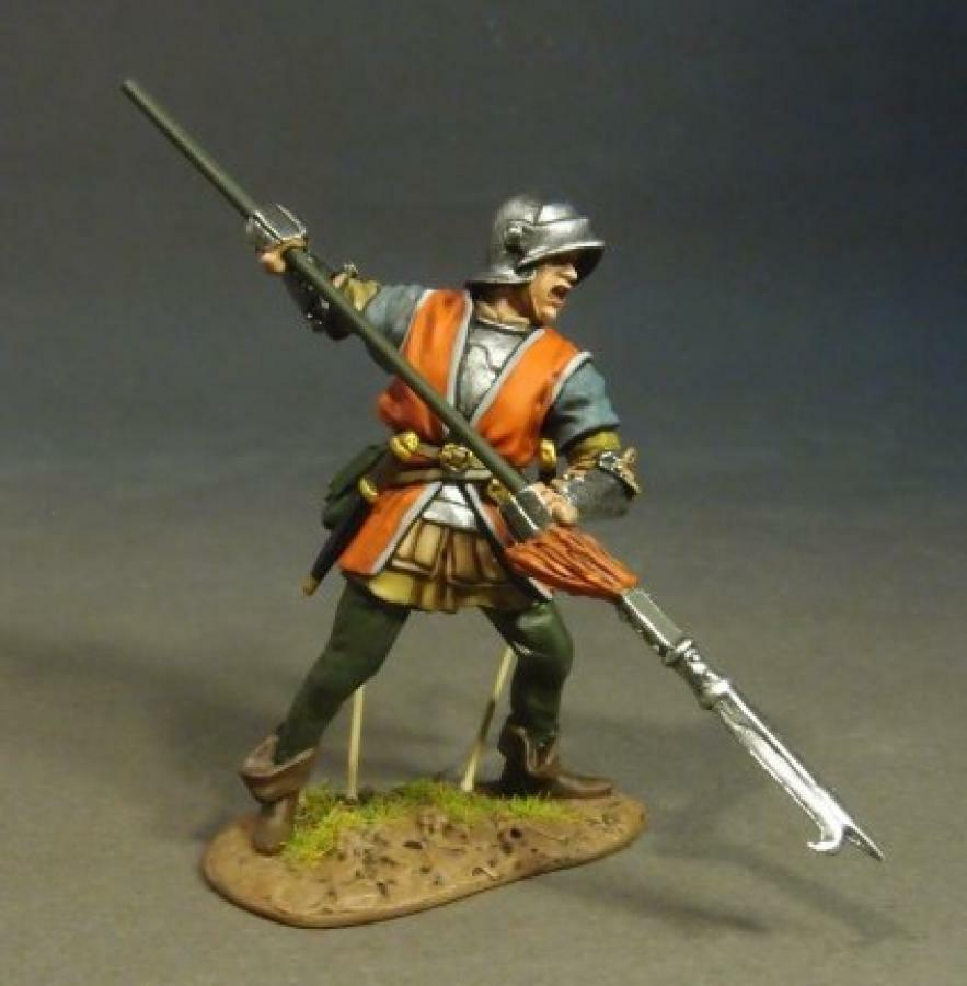 JOHN JENKINS WAR OF THE pinkS OXLANC-07 LANCASTRIAN BILLMAN MIB