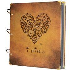 "Scrapbook Art Album Decor Page Photo Memory Book Birthday Holiday Book 10.5x10"""