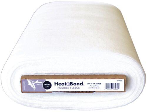 Heat N Bond Fusible fleece High Loft-Hierro en bolsa de decisiones-longitudes de hasta 10m