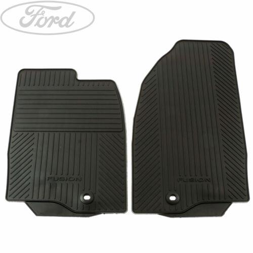 Genuine Ford Fusion Front Contour Floor Mat Carpet Set 1446600