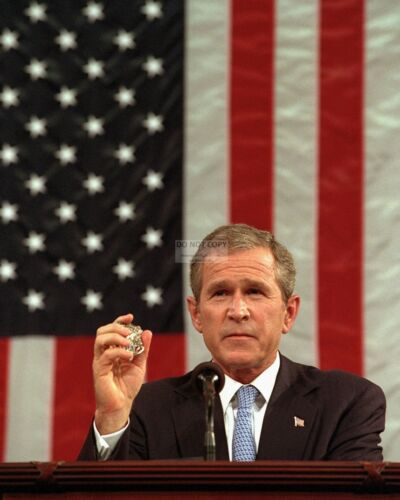 GEORGE W ZZ-510 BUSH IN JOINT SESSION OF CONGRESS RE: SEPT 11-8X10 PHOTO