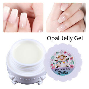 5g-Opal-Jelly-Gel-Semi-transparent-Weiss-Soakoff-Manikuere-DIY-Harunouta