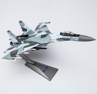 AF1 1/72 Russian SU-35 Super Flanker Fighter Diecast Model