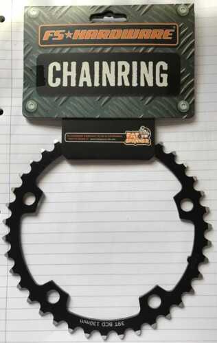 FS Fat Spanner 10-speed 130 BCD Chainring Black 39T Inner