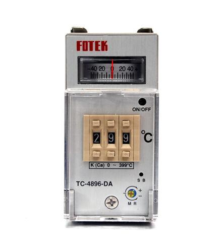 relais Out FOTEK 1pc Contrôleur de Température TC-4896-DA R3 48x96mm K Capteur P D