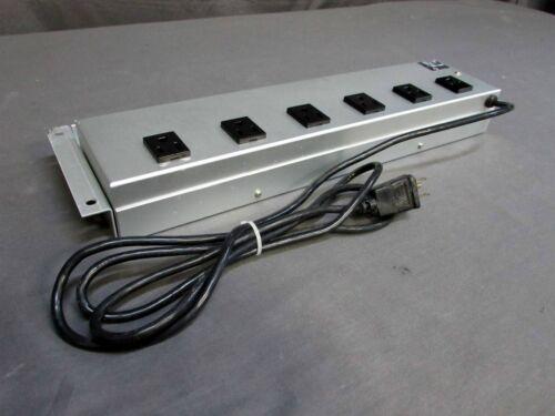 * Pharmacia 18-0530-02 6-Outlet 120V Rack Mount Power Strip Surge Protector
