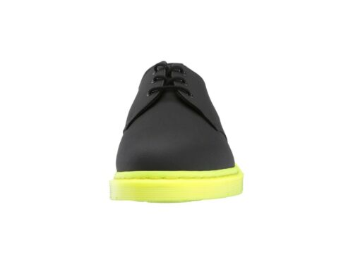 Black Ajax Gunmetal Oxford R22871001 NIB Dr Martens Men/'s 1461 Shoe