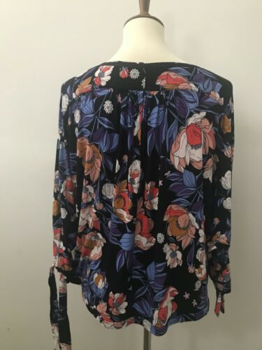 190383911458 Keepin People Free Black Top Size On Printed Sp 5CHxw4x8qP