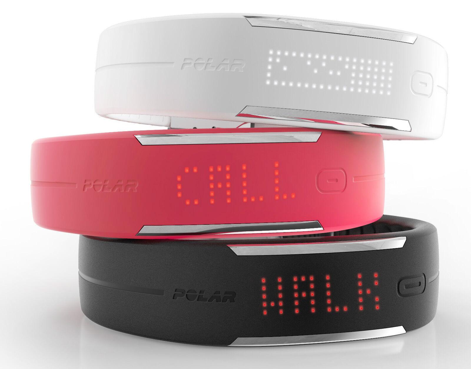 Uhr polar loop loop polar 2 noir,rose,weiß/Armbanduhr polar loop 2 schwarz,Rosa,weiß c35113