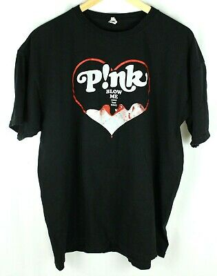 """PINK P!NK /""""ALBUM BARS/"""" TRUTH ABOUT LOVE TOUR 2013 BLK T-SHIRT NEW OFFICIAL ADULT"""